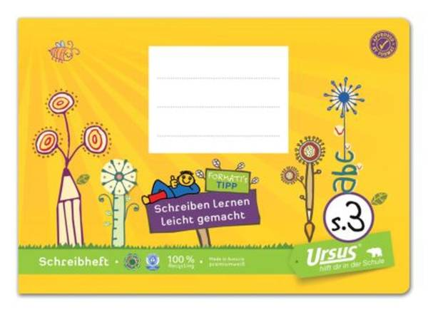 URSUS Formati Heft A5 quer 20 BL vierl. 06053081