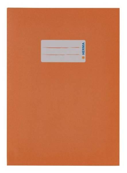 Heftschoner A5 Papier orange