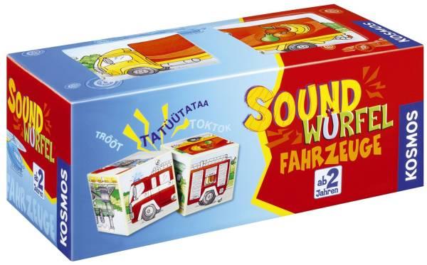 KOSMOS Soundwürfel Fahrzeuge 697372