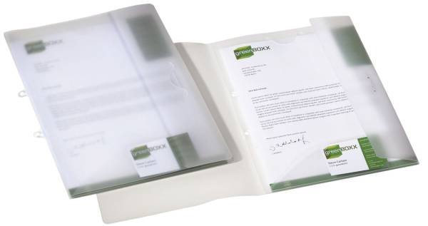 DURABLE Präsentationsordner Angebot 2533 19 Multiflex transparent