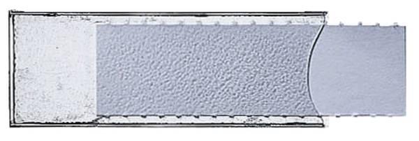 6004 Sichtfenster Unischild, selbstklebend, 50 Stück, transparent