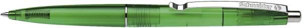 Kugelschreiber K20 ICY COLOURS grün transparent, M grün