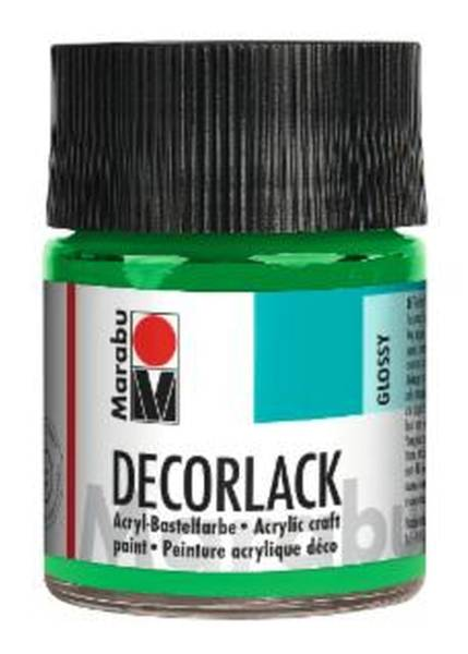 Decorlack Acryl, Hellgrün 062, 50 ml