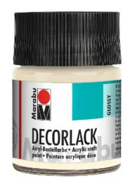 Decorlack Acryl, Elfenbein 271, 50 ml