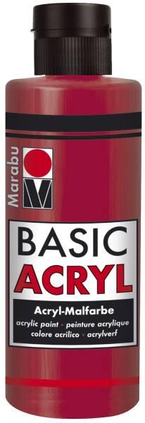 Basic Acryl, Karminrot 032, 80 ml