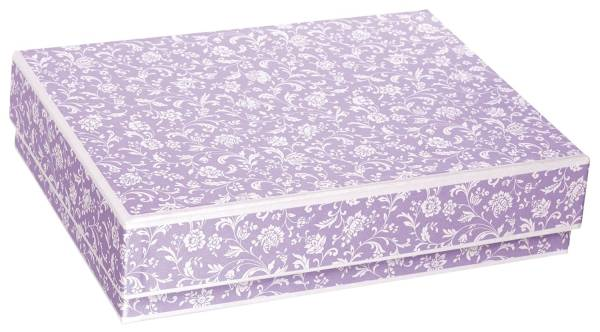 Geschenkkarton Medici violet