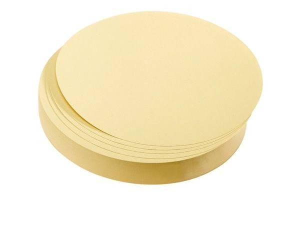 Moderationskarte 500ST gelb