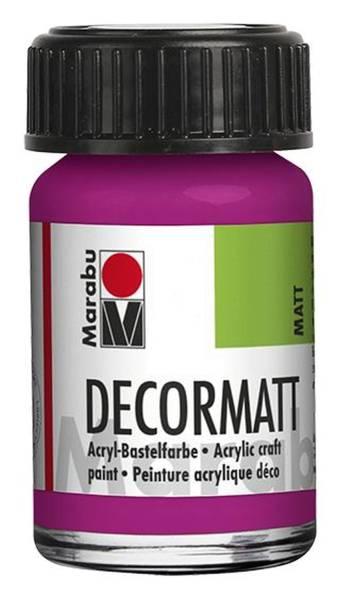 Decormatt Acryl, Magenta 014, 15 ml