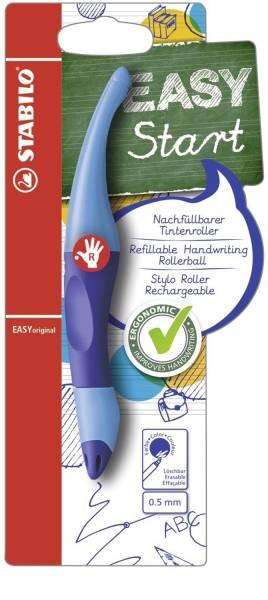 EASYoriginal ergonomischer Tintenroller, dunkelblau hellblau