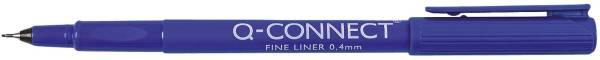Q-CONNECT Feinliner 0,4mm blau KF25008