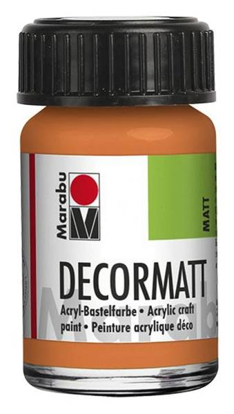 Decormatt Acryl, Orange 013, 15 ml