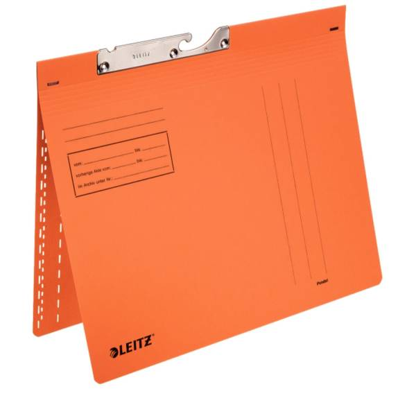 LEITZ Pendelhefter orange 2013-00-45 Manila 320g