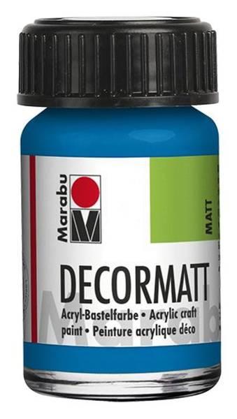 Decormatt Acryl, Azurblau 095, 15 ml