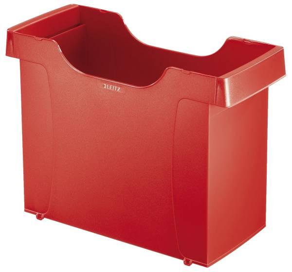 1908 Hängemappenbox Uni Box Plus, für Hängemappen A4, Polystyrol, rot