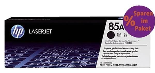 HP Lasertoner Nr.85A 2ST schwarz CE285AD
