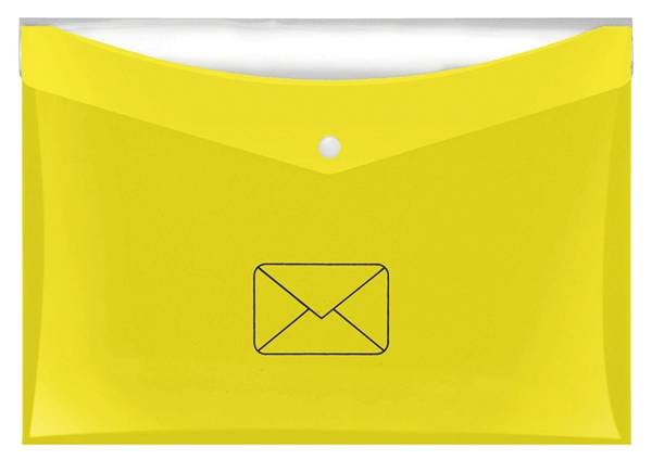 VELOFLEX Dokumentenmappe A4 Post gelb 4530 119