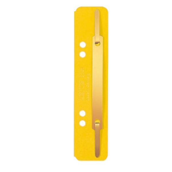 LEITZ Heftstreifen Karton kurz gelb 3701-00-15 25ST