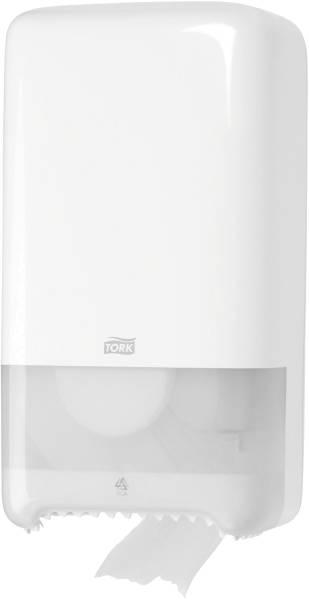 Toilettenpapier Doppelrollenspender Midi T6 System weiß