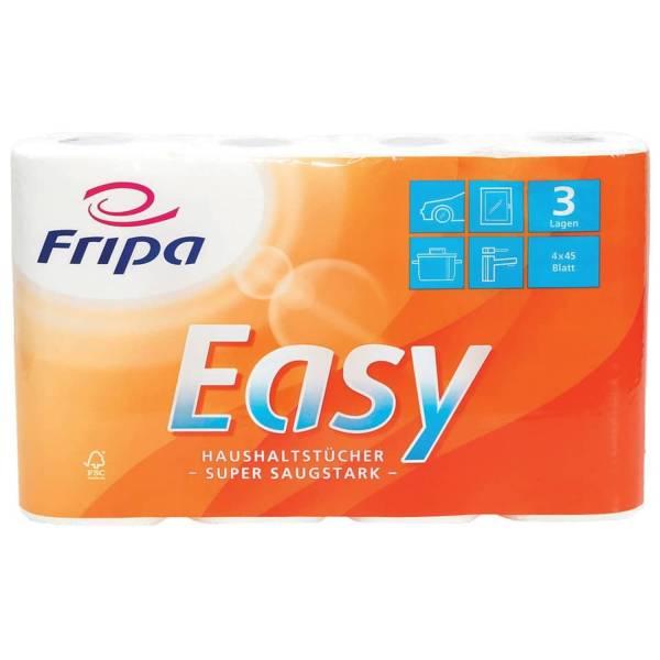 FRIPA Küchenrolle 3-lag. 4RL weiß 3074003 Easy