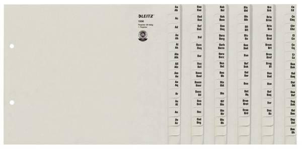Registerserie A4 36BL grau
