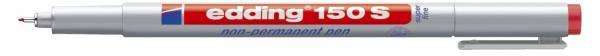 EDDING Folienstift 150S rot 150 002 non permanent