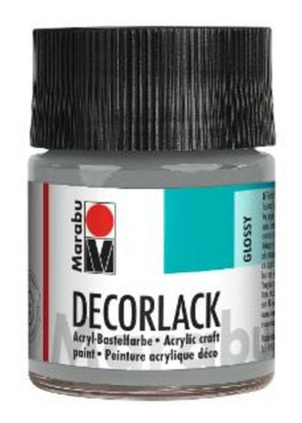 MARABU Decorlack Acryl metallic silbe 1130 05 782 50ml