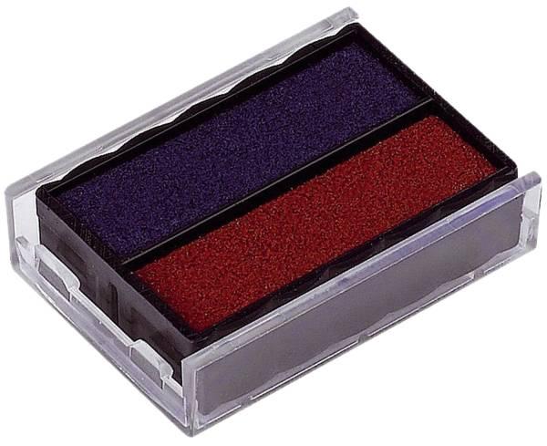 TRODAT Stempelersatzkissen 6/4850 bl/rt 4850 blau/rot 2 Stück