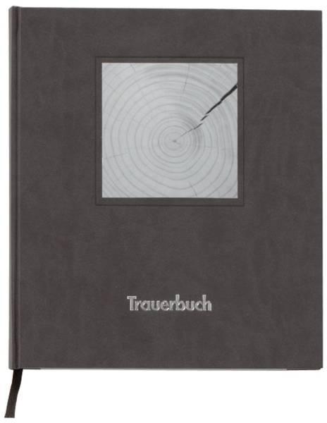 Kondolenzbuch schwarz