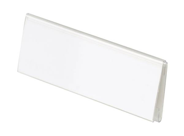 HAN Beschriftungsschild 10ST transparent 1690 TWIN 70x26mm