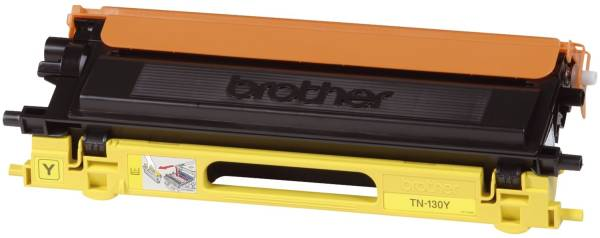 BROTHER Lasertoner yellow TN130Y