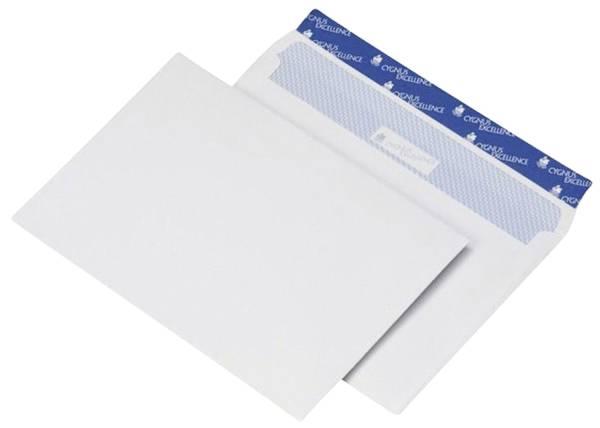 Briefumschlag C4, haftkebend, weiß, Offset 120g, 250 Stück