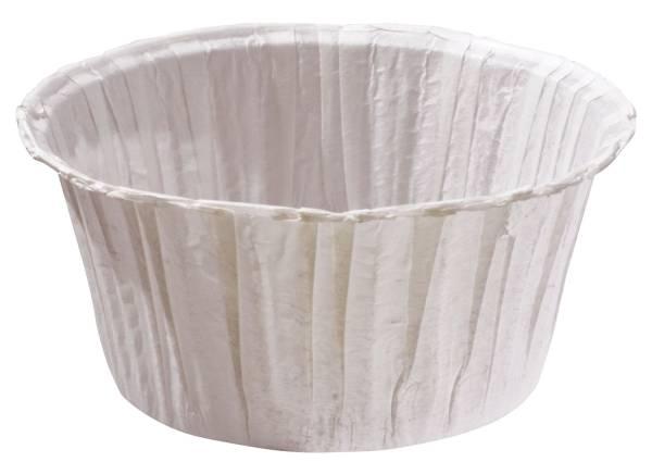 Muffinkapseln 5 x 7 cm, weiß, 20 Stück