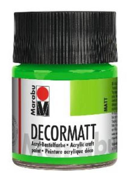 Decormatt Acryl, Gelbgrün 066, 50 ml