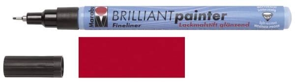 MARABU Brilliantpainter 0.8mm kirsche 01210 008 125