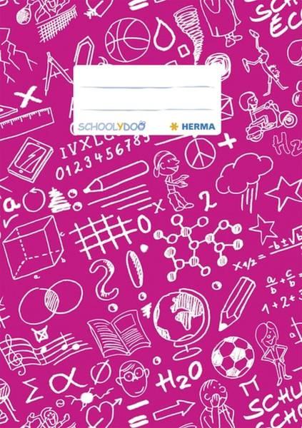 HERMA Heftschoner A5 PP pink 19420 Schoolydoo