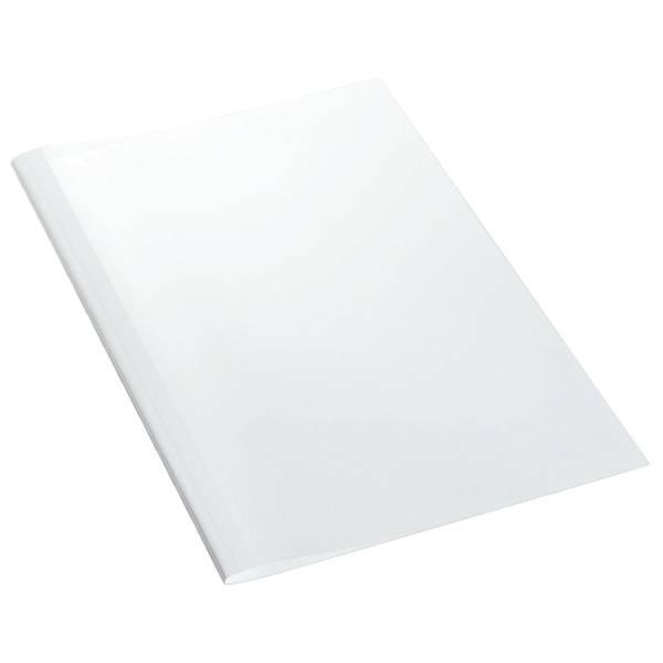 LEITZ Thermomappe glänzend A4 weiß 39202 100ST 4mm