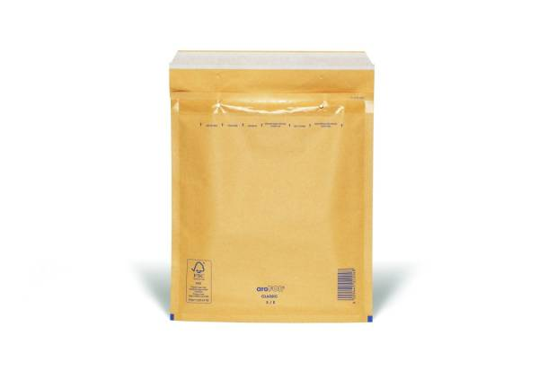 Luftpolstertaschen Nr 5, 220x265 mm, braun, 10 Stück