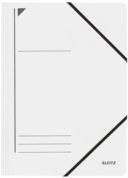 3980 Eckspanner A4, 250 Blatt, Pendarec Karton (RC), weiß
