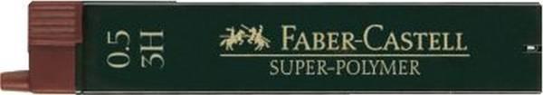 FABER CASTELL Feinmine SuperPolymer 3H 0.5 120513 12St