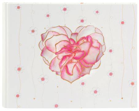 GOLDBUCH Gästebuch Hochzeit Scent of Roses 47 185 29x23cm