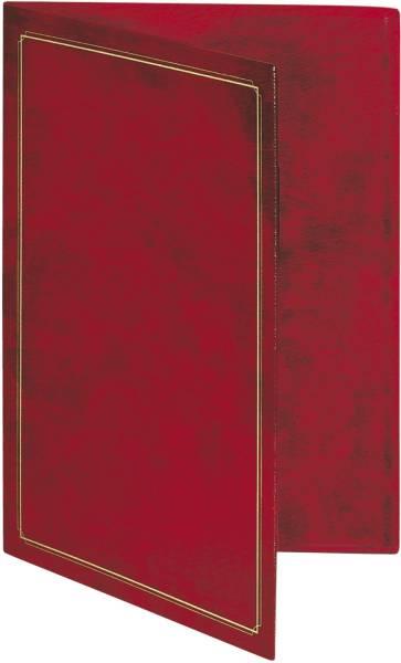 RNK Urkunden Mappe A4 rot 2831
