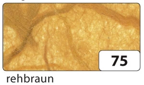 Strohseide 47 x 64 cm, rehbraun