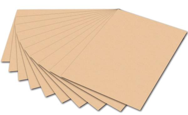 Tonpapier 50 x 70 cm, apricose