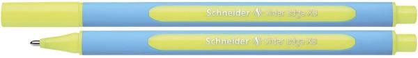 Kugelschreiber Slider Edge Kappenmodell, XB, gelb