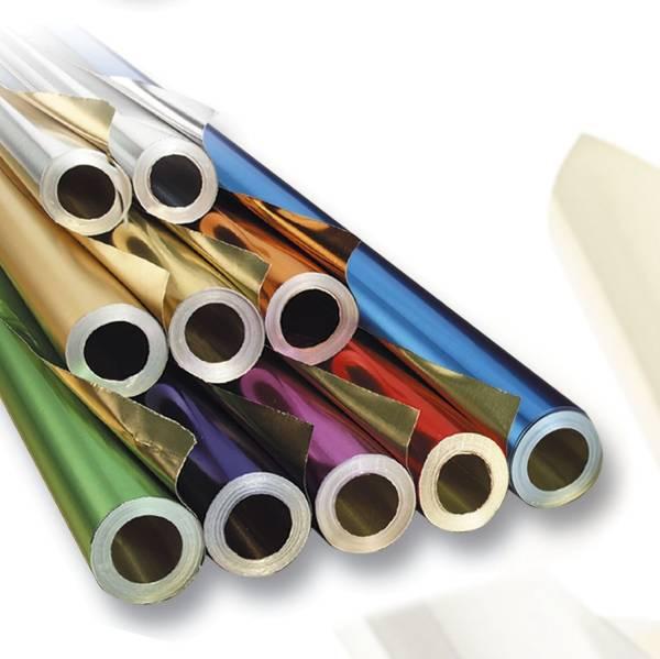 Metallfolie silber silber