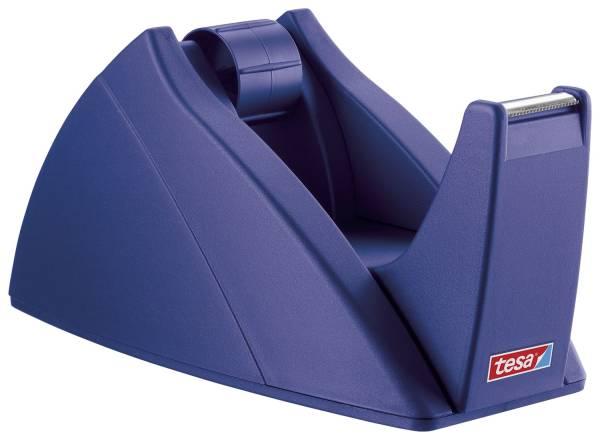 TESA Tischabroller 19mmx33m royalblau 57421-00002-02 Easy Cut leer