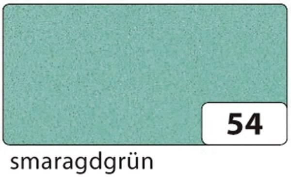 Moosgummi 20 x 29 cm, smaragdgrün