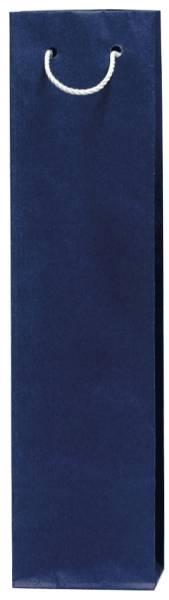 Flaschentragetasche 9 x 36 x 7 cm, blau