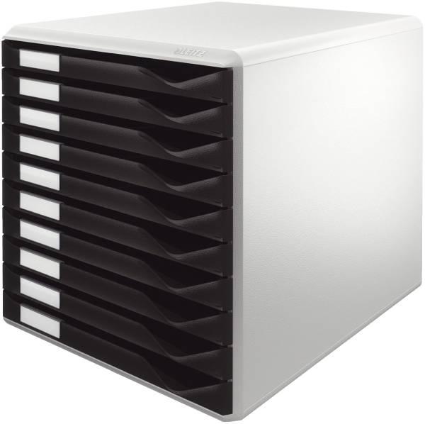 LEITZ Schubladenbox 10 Laden schwarz 5281-00-95