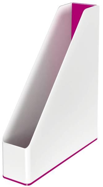 LEITZ Stehsammler WOW A4 weiß/pink met. 5362-10-23 Duo Colour
